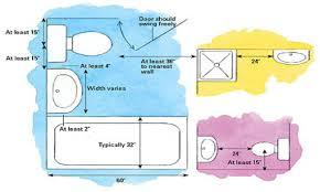 5x8 Bathroom Floor Plan by Smallest Sink Bathroom Clearance Dimensions Bathroom Fixture