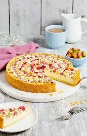 cremiger rhabarberkuchen mit quark