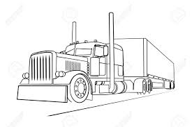 Semi Truck Outline Drawing Drawing Of The Truck Transporting A Load ... How To Draw A Monster Truck Printable Step By Drawing Sheet Drawn Car Mustang Pencil And In Color Drawn Make Dump Card With Moving Parts For Kids Craft N Few Easy Steps Trucks Mack Step Trucks Transportation Free Simple Drawings For Garbage Transport To Cement Art Projects Kids 4x4 Truckss 4x4 By A Chevy The Best 2018 Line Drawing At Getdrawingscom Free Personal Use How Draw Ford Truck Note9info