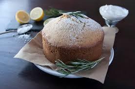 Rosemary Olive Oil Cake With Lemon Glaze