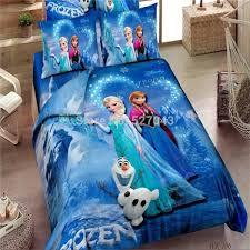 Promotion Brand Frozen Bedding Sets Elsa Anna Bedclothes Quilt