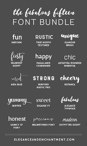 15 Fabulous Fonts For Graphic Design Projects Web Blogging Crafting Weddings