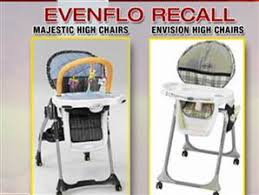 large recall of high chairs for choking hazard health