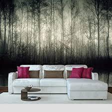 wandbilder kinderzimmer mädchen grauer seewald 350x250cm