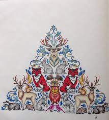 Pin By Cheryl Tyler On Enchanted Forest An Inky Quest Coloring