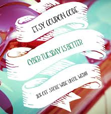 ETSY COUPON CODE!!!! Type In