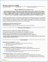 Human Resource Generalist Resume Samples New Human Resources ...