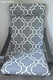 diy ikea poang chair cover polished habitat
