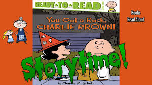 Halloween Picture Books by Halloween Stories You Got A Rock Charlie Brown Read Aloud