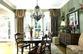 Formal Drapery Dining Room Ideas Curtain Living Curtains