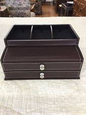 Mens Dresser Valet With Charger by Totes Valet Drawer With Charging Station Ebay