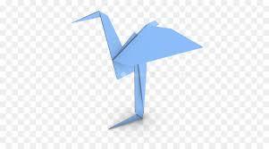 Origami Paper Heron Craft