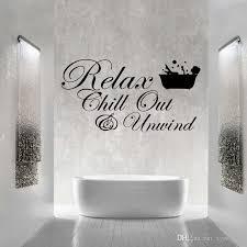 großhandel für relax chill enjoy abwind zitat wand lustige aufkleber kunst badezimmer wohnzimmer entfernbare vinyl aufkleber diy xymy757 7 68