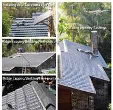pic 2 new terracotta roof installation installing new terracotta