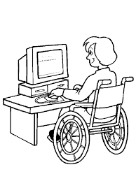 22 Kids With Disabilities Coloring Pages