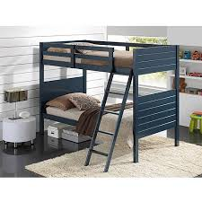 broyhill kids palm bay twin over twin bunk bed blue walmart com