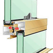 doors and windows custom curtain wall system kawneer pro