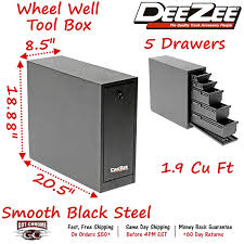 DZ 95D DEE Zee Tool Box Wheel Well Box With Drawers Black Steel Full ... Ram Introduces Rambox System For Pickup Trucks With 6foot4inch Have To Have It Buyers Alinum Fender Well Tool Box 40299 Lund 5225 In Full Or Mid Size Steel Truck Black Best Of 2017 Wheel Reviews 60 Gun Box78228 The Home Depot Storage Drawers Bed Ideas 48 Box88230 Vdp 31100 Single Lid Sound 53 Box8227 Northern Equipment Locking