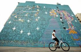 Big Ang Mural Petition by Foster The People Mural In Downtown L A Saved For Now La Times