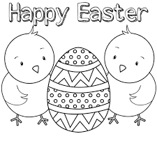 Free Easter Coloring Pages Printable Cards 2017