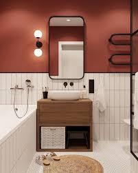 wie mischt terrakotta und weiß im badezimmer ili hat