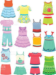 Yellow Dress Clipart Summer 7