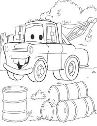 Disney Cars Colouring Book Pdf Pixar Coloring Sheets Car Pages Giant Full Size
