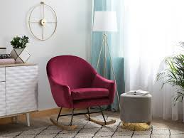 Velvet Rocking Chair Burgundy OXIE In 2019 | Living Room Ideas Vintage Teak Rocking Chair With Burgundy Upholstery For Sale At Pamono Calamo Greendale Home Fashions Jumbo Cushions Review Sherpa Cushion Set Pads Walter Drake Miles Kimball 2piece Securing Hickory Rocker 83 Leisure Lawns Collection Mid Century Modern Accent Lounger Etsy Amazoncom Lounge Swivel Rattan Wicker Java W Gci Outdoor Freestyle Folding Gci37072 Best Two Piece Seat Back Eco Handmade Wiker Wburgundy From Sofas By Saxon Uk Chairs Hayneedle
