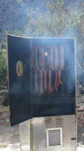 File Cabinet Smoker Plans by Build A Large Homemade Meat Smoker Youtube