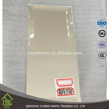 12x12 Mirror Tiles Bulk by 2x6 Wide Beveled Mirror Tile Squarefeet Depot Amazoncom Bevelled