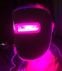 My girlfriend s light therapy acne mask Cyberpunk