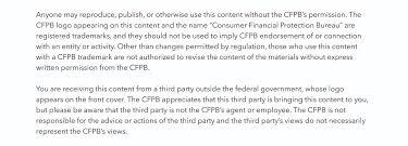 consumer financial protection bureau learn more consumer financial protection bureau