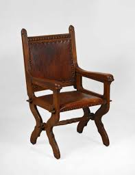 Lot 2652. Armchair In Neo-Gothic Style. From The Catalog