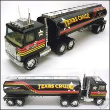 100 Texas Truck And Toys 1980s Vintage TEXAS CRUDE OIL NYLINT USA Steel GMC 18Wheeler
