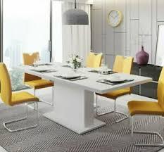 details zu esstisch viko esszimmertisch stilvoll tisch wohnzimmertisch esszimmer weiß m24