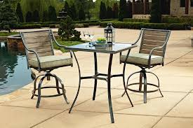patio high top bistro sets beautiful tall patio table house plans