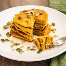 Easy Healthy Pumpkin Pancake Recipe by Pumpkin Pancakes For One