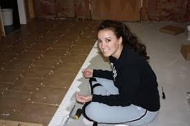 diy laundry room tiling bower power
