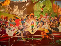 Denver International Airport Murals Meaning by My Comings And Goings Us Summer 2011 In Flight Denver Colorado