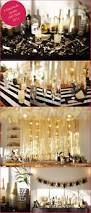 Foil Fringe Curtain Dollar Tree by Amazing Black And Gold New Year Bash Love The Color Scheme For