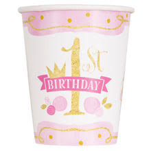 Pink And Gold Birthday Decorations Canada by 1st Birthday