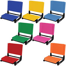 Stadium Chairs For Bleachers With Arms by Stadium Seat With Back Stadium Seat Chair Anthem Sports
