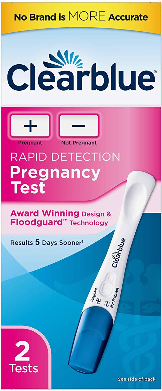 Clearblue Plus Pregnancy Test - x2
