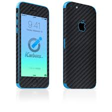 iPhone 5C Skins Carbon Fiber