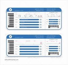 Boarding Pass Template Awesome Wedding Invitation Elegant Flight Ticket