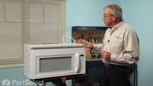 microwave repair replacing the light bulb 40w