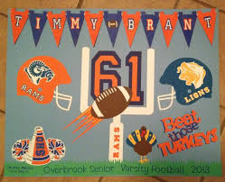 Football Poster Colleen McGuriman