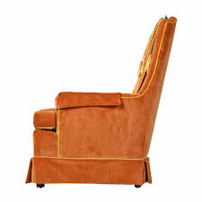 1960s Original Yellow Orange Velvet Tufted High Back Lounge Chair Set By  McAfee Merax Orange High Back Gaming Chair With Lumbar Support And Headrest Cougar Armor S Luxury Breathable Premium Pvc Leather Bodyembracing Design Mid Century Modern Highback Lounge Revive Modern In Highback Swivel Black With Racing Style Ergonomic Office Desk By Morndepo Xl Executive Ribbed Pu Computer Gothic Inspired Velvet Throne Task Global Ding Chairs Upholstered Angelic Vini Furntech Gromalla Mesh Akracing Nitro Robus High Back From Stylex Architonic Video Bucket Seat Footrest Padding