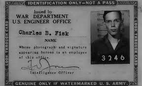 Charles Fisks US Army ID From 1945 Image Courtesy Of C B Fisk Inc