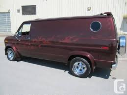 1980 Ford Chateau Van